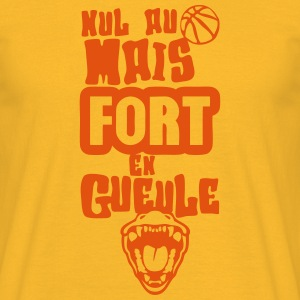 nul basketball fort gueule ouverte humou Tee shirts - T-shirt Homme