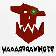 Motiv ~ Premium Waaagh-Shirt mit Namen Weiß