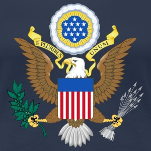USA coat of arms T-shirts - Premium-T-shirt dam