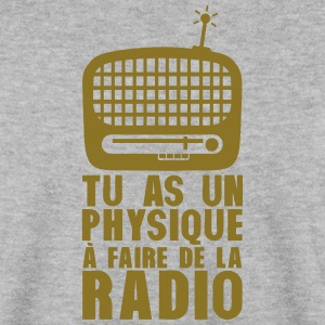 physique faire radio vieille humour Sweat-shirts - Sweat-shirt Homme