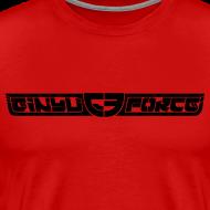 Design ~ T-Shirt Men, Black Stroke