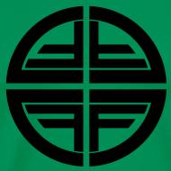 Design ~ T-Shirt men, Black Disk