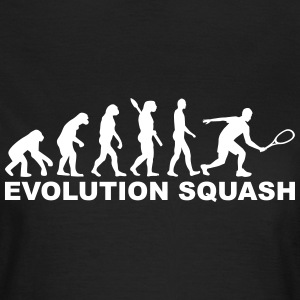 Evolution Squash T-Shirts - Frauen T-Shirt