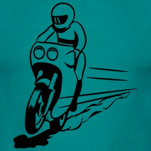 Motorcycle helmet T-Shirts - Men's T-Shirt