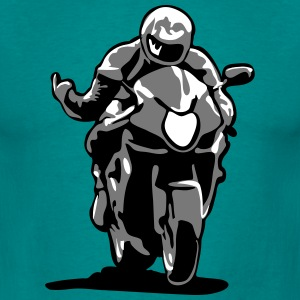 Race motorbike T-Shirts - Men's T-Shirt