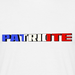 patriote francais Tee shirts - T-shirt Homme