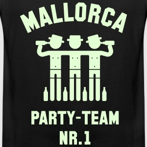 Mallorca Party Team Nr. 1 (Bier Urlaub) Tank Tops - Männer Premium Tank Top
