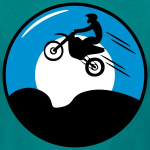 Motorcycle Sun motocross T-Shirts - Men's T-Shirt