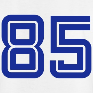 College Numbers, Nummern, Sports Numbers, 85 T-shirts - T-shirt barn