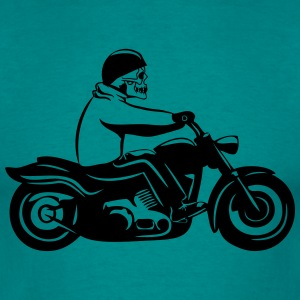 Motorcycle cool skull T-Shirts - Men's T-Shirt