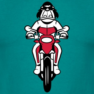 Motorcycle cartoon funny T-Shirts - Men's T-Shirt