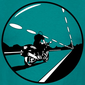 Motorcycle night button T-Shirts - Men's T-Shirt