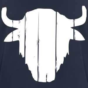Vintage Buffalo Skull  T-Shirts - Men's Breathable T-Shirt