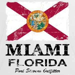 Florida Flag  -  Vintage Look T-Shirts - Frauen Kontrast-T-Shirt