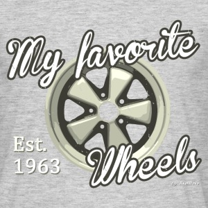 My favorite wheels - T-shirt Homme