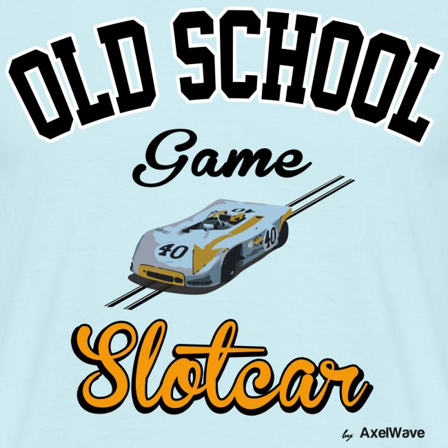 Oldschool game slotcar