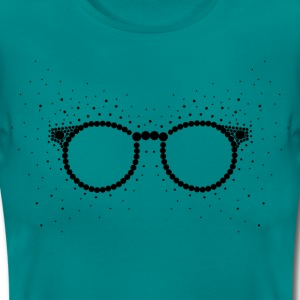 DOT GLASSES black T-Shirts - Women's T-Shirt