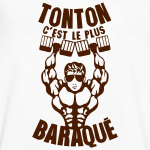 tonton baraque muscle bodybuilder halter Tee shirts - T-shirt Homme col V