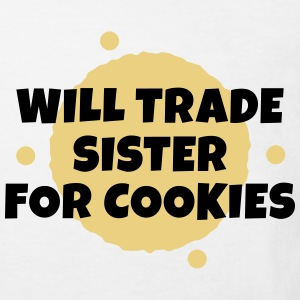 Will trade sister for cookies T-Shirts - Kinder Bio-T-Shirt