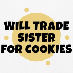 Will trade sister for cookies Manches longues - T-shirt manches longues Premium Enfant