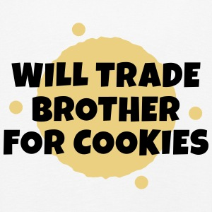 Will trade brother for cookies vil samhandel bror for cookies Langærmede shirts - Børne premium T-shirt med lange ærmer