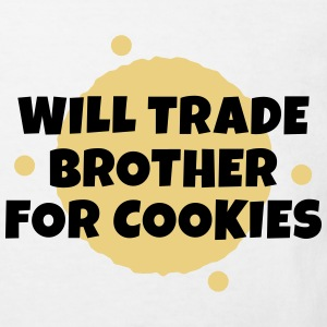 Will trade brother for cookies zal de handel broer voor cookies Shirts - Kinderen Bio-T-shirt