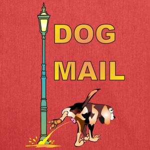 DOG MAIL - Schultertasche aus Recycling-Material