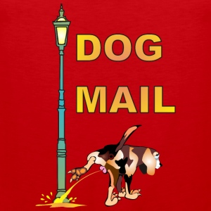 DOG MAIL - Männer Premium Tank Top