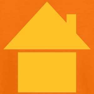 house roof HOUSES icon with home with chimney Shirts - Kids' Premium T-Shirt