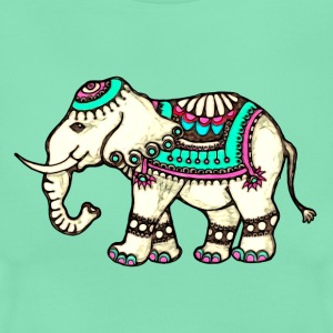 Indian Elephant, Nature, Africa, Animal, Wild, Art T-Shirts - Women's T-Shirt