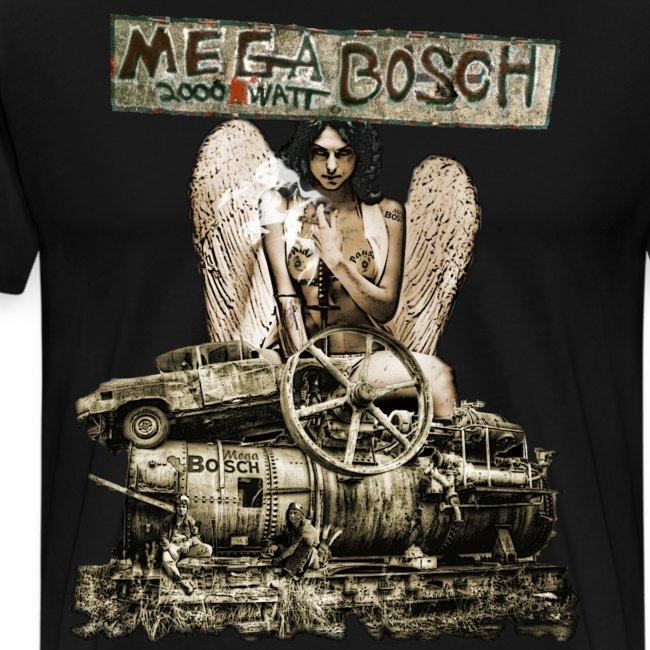 "T-Shirt ""MegaBosch"" MSMB01"