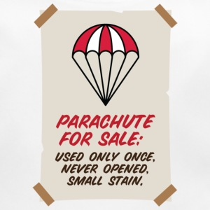 Parachute for sale. Only once opened! Accessories - Baby Organic Bib