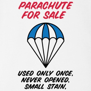 Parachute for sale. Only once opened! Shirts - Organic Short-sleeved Baby Bodysuit