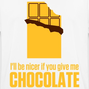 Give me chocolate. Then I am also friendly! T-Shirts - Men's Breathable T-Shirt