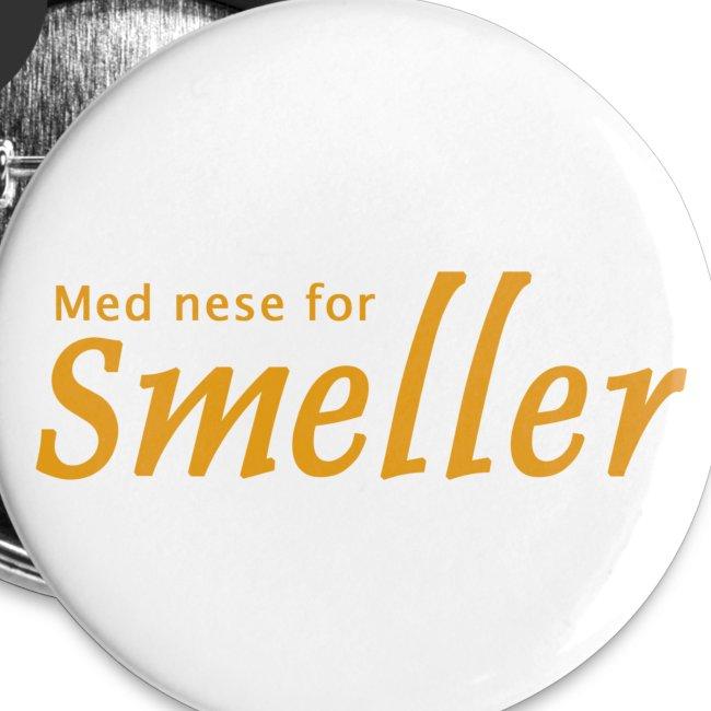 Button - Med nese for Smeller