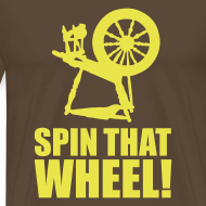 Ontwerp ~ T-shirt Spin that wheel!