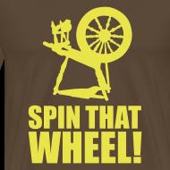 Ontwerp ~ T-shirt Spin that wheel!