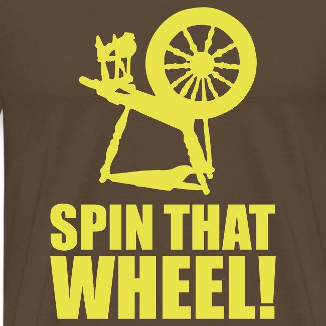 T-shirt Spin that wheel!