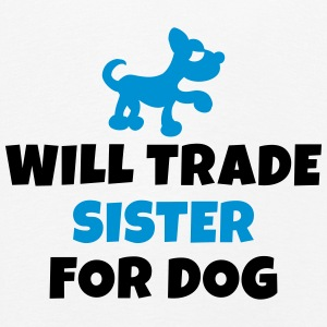 Will trade sister for dog Manches longues - T-shirt manches longues Premium Enfant
