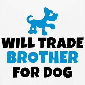 Will trade brother for dog Langarmshirts - Kinder Premium Langarmshirt