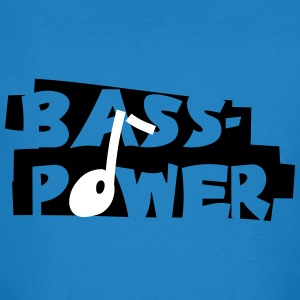 Bass-Power - Männer Bio-T-Shirt