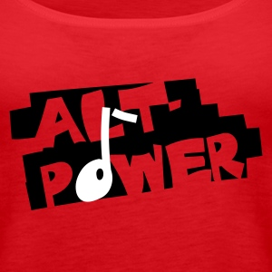 Alt-Power - Frauen Premium Tank Top