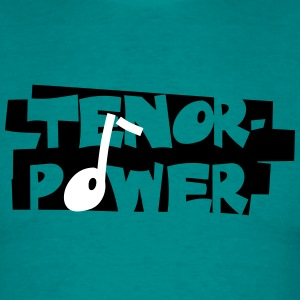 Tenor-Power - Männer T-Shirt