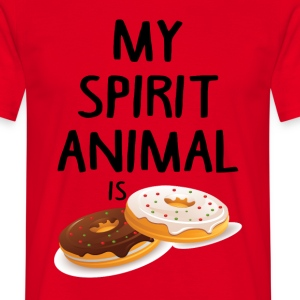 My Spirit Animal Is Douts T-Shirts - Men's T-Shirt