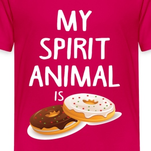 My Spirit Animal Is Douts Shirts - Teenage Premium T-Shirt