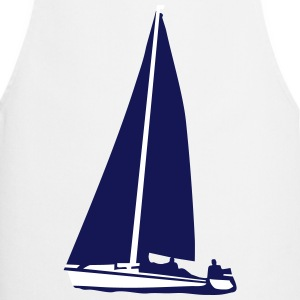 sailboat, sailing  Aprons - Cooking Apron