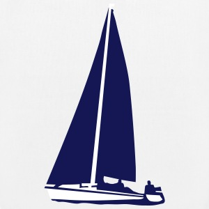 sailboat, sailing Bags & Backpacks - EarthPositive Tote Bag