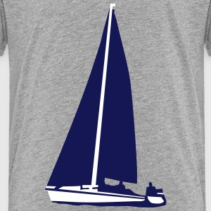 sailboat, sailing Shirts - Teenage Premium T-Shirt