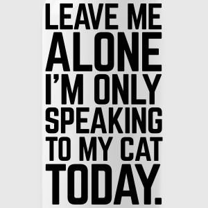Only Speaking To My Cat Tazas y accesorios - Cantimplora