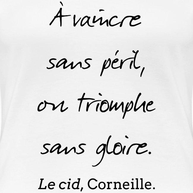 T-Shirt Femme - Cid - Vaincre